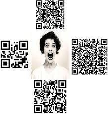 Crazy QR code