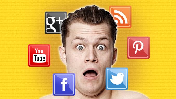 social media face
