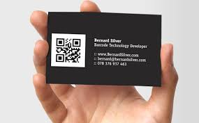 Business card qr code visual qr code generator blog visualead business card qr code reheart Images