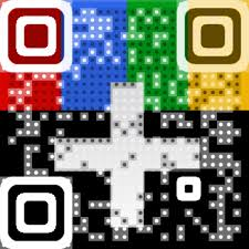 Business cards QR codes with logo