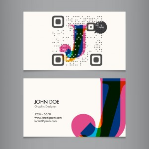 Vcard qr codes revolutionizing your business card visual qr vcard qr codes are a welcome addition to your business card colourmoves