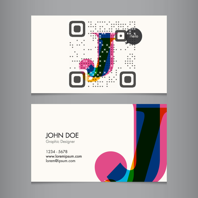 vCard QR Codes - Revolutionizing your Business Card - Visual QR Code ...