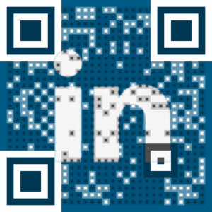 Visual QR Code - Connect on LinkedIn