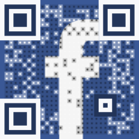 Visual QR Code - Follow us on Facebook!